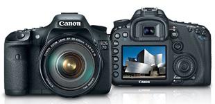 Views of Canon EOS 7D