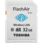 toshiba flashair w-03 sd card