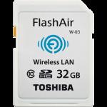 toshiba flashair w-03 sd card